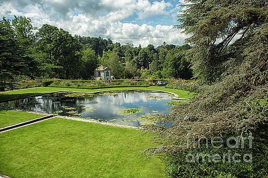 Patricia Hofmeester - Pond at Bodnant Gardens in Wales