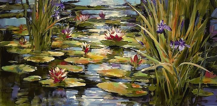 Pond Iris Wall Art by Brent Heighton