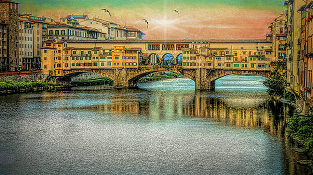 Ponte Vecchio by Kirk Sewell