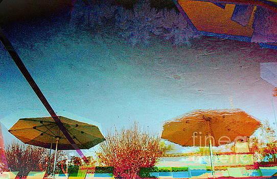 Pool Umbrellas by Katherine Erickson