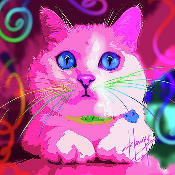 pOpCat Coffee Cat by DC Langer