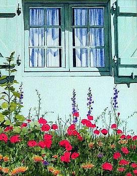 Poppies by Constance DRESCHER