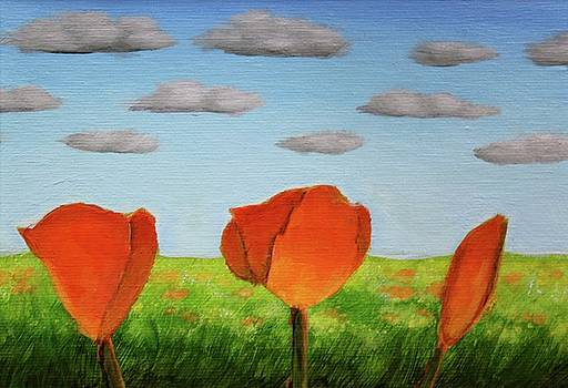 Poppies by Zjohn Loest
