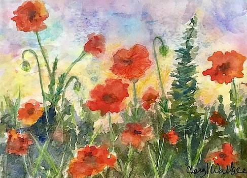 Poppy Garden by Cheryl Wallace