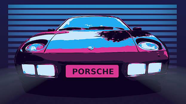Porsche 928 by Tin Tran