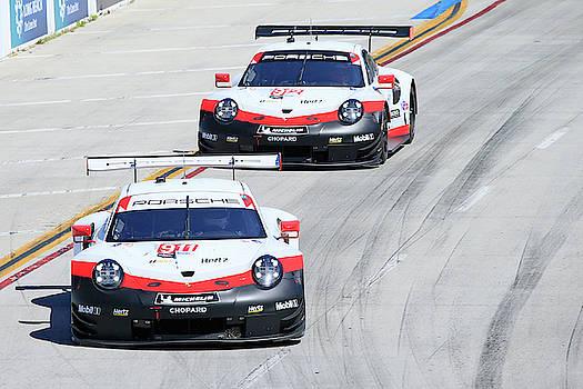 Porsche Battle  by Shoal Hollingsworth