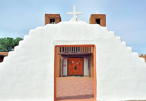 Portal to church by Gerald Blaine