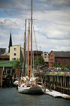 Portland Dock by Karol Livote