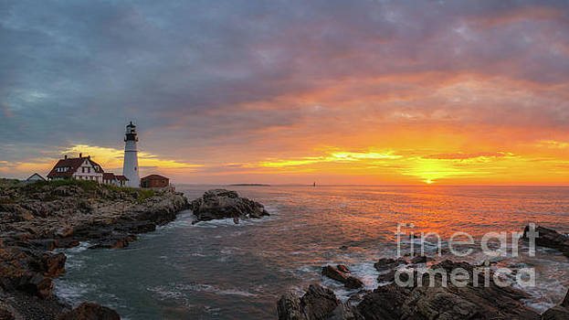 Portland Head Lighthouse Sunshine  by Michael Ver Sprill