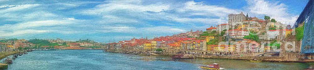 Porto 26 Porto Panoramic by Leigh Kemp