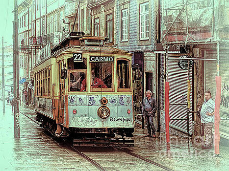 Porto 27 Uphill in the rain by Leigh Kemp