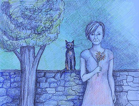 Bonnie Kelso - Portrait of a Cat