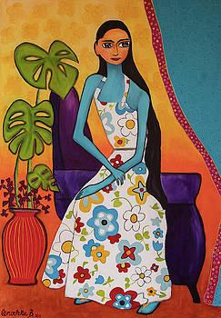 Portrait of a Girl at 11 by Lenochka Blonsky