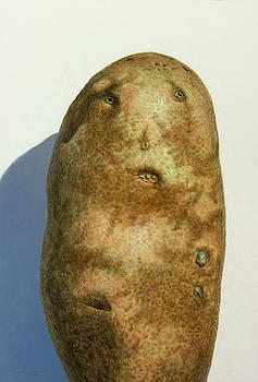 Portrait of a Potato by James W Johnson