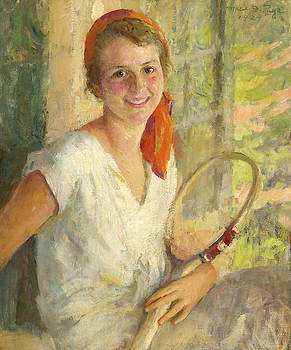 Portrait of Anne Hawks, 1929 by Marie Danforth Page