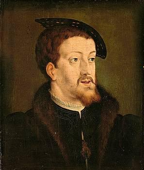 Portrait of Charles V, Holy Roman Emperor by Jan Cornelisz Vermeyen