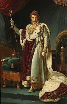 Portrait of Emperor Napoleon I by Francois-Pascal Simon baron Gerard