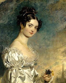 Portrait of Lady Selina Meade by Sir Thomas Lawrence