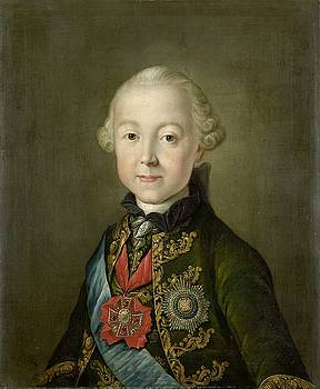 Portrait of Paul I, Emperor of Russia by Anonymous
