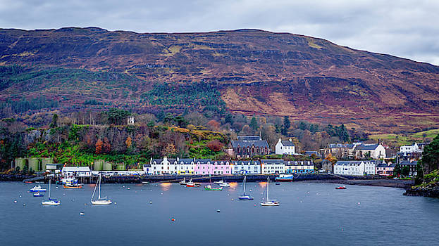 Portree Harbour by John Frid