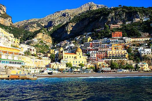 Positano by the Sea by Catie Canetti