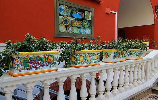 Positano Ceramics by Catie Canetti