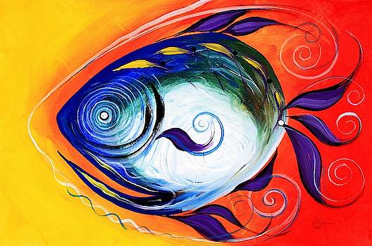 Positive Fish by J Vincent Scarpace