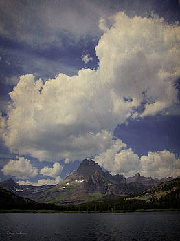 Postcard From Glacier National Park, Montana by Mick Anderson