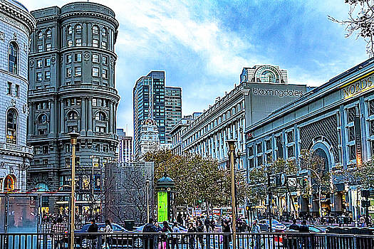 Powell and Market Streets by Bill Gallagher