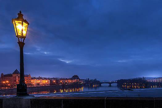 Prague at Dawn by Andrew Soundarajan