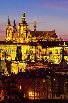 Prague at Twilight by Andrew Soundarajan