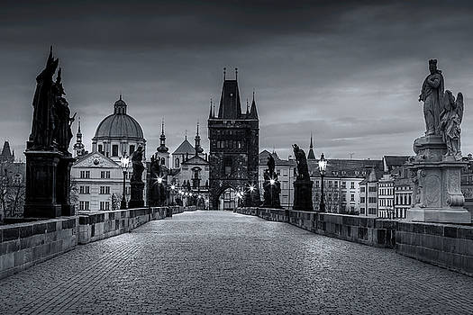 Prague's Charles Bridge by Andrew Soundarajan