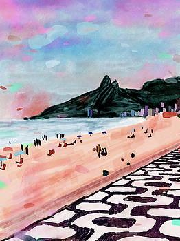 Praia de Ipanema by Felipe Navega