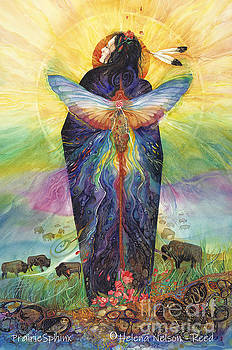 Prairie Sphinx by Helena Nelson - Reed
