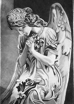 Praying angel  by Rhondda Saunders
