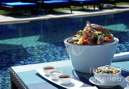 Prepared asian Food by Webbon