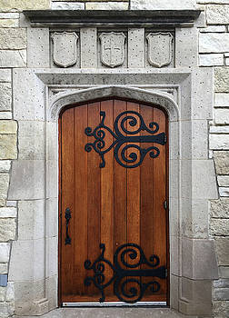 Pres House Door   by David T Wilkinson