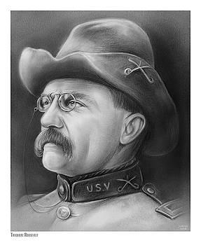 President Teddy Roosevelt by Greg Joens
