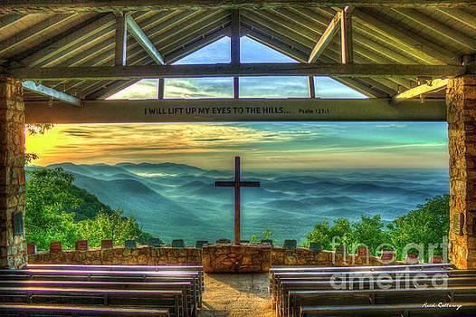 Reid Callaway - Pretty Place Chapel 2 The Son Has Risen Blue Ridge Mountain Art