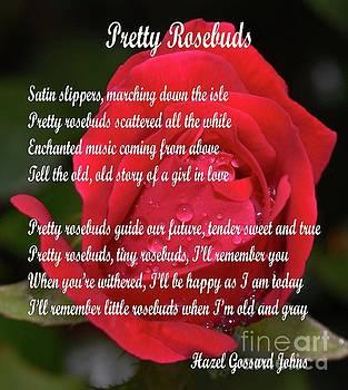 Cindy Treger - Pretty Rosebuds - Poem by Hazel Gossard Johns