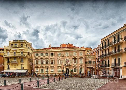 Princes Palace of Monaco by Wayne Moran