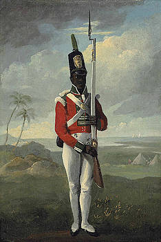 English School -  Private of the Light Company 8th West Indian Regiment, Dominica