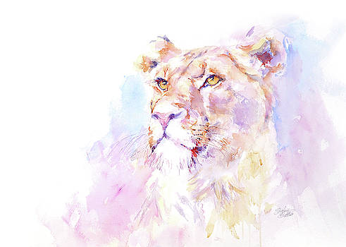 Proud Lion by Stephie Butler