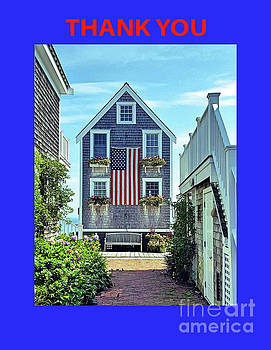 Sharon Williams Eng - Provincetown Patriot Thank You Poster 300