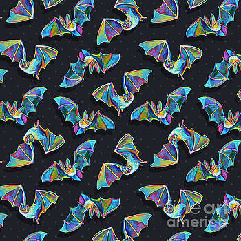Robert Phelps - Psychedelic Bat Pattern