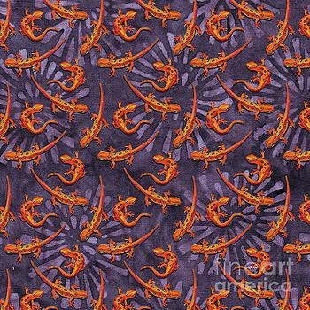 Robert Phelps - Psychedelic Salamander Batik Pattern