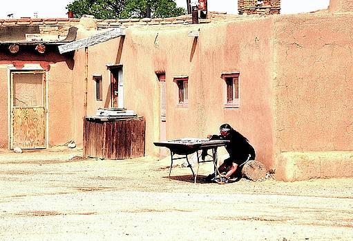Pueblo craftsman by Gerald Blaine