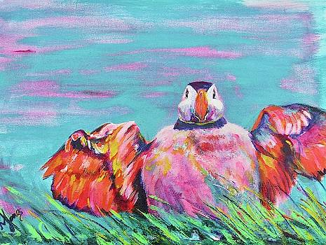 Puffed Out Puffin by Karin McCombe Jones