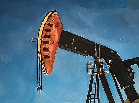 Pump jack by Norman Burnham