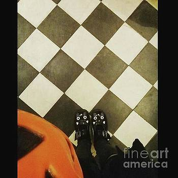 Pumpkin Checkers by Kasey Jones